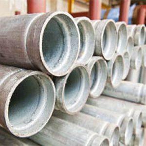 Galvanised Heavy Steel Tube - Roll Grooved Ends