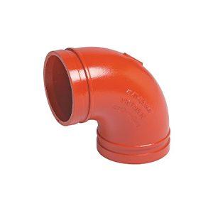 No. 10 90° Elbows - Red Orange