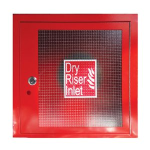 4-Way Inlet Cabinet Red