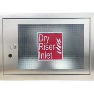 Fire Cabinet - Stainless Steel