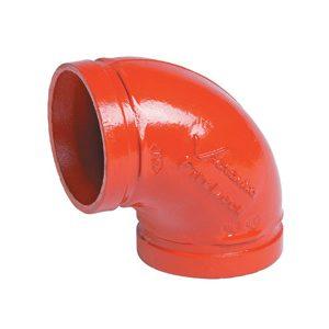 FireLock 90° Elbows No.001 - Red