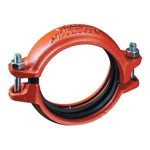 FireLock EZ Rigid Couplings, Style 009N - Red