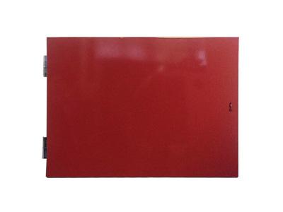Horizontal Vandal Proof Door Frame - Red