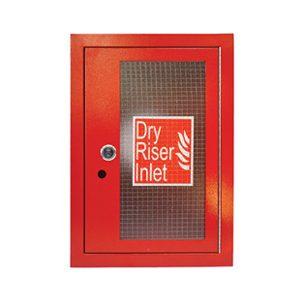 Vertical Inlet Architrave & Door - Red