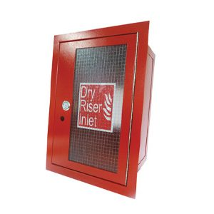 Vertical Inlet Cabinet - Red#