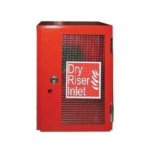 Vertical Surface Mounted Inlet Cabinet - Red